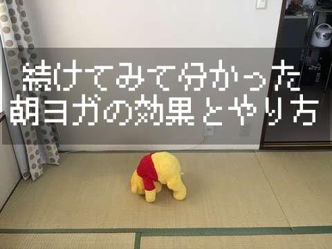 【紹介】実際に継続してわかった朝ヨガの効果とやり方!!